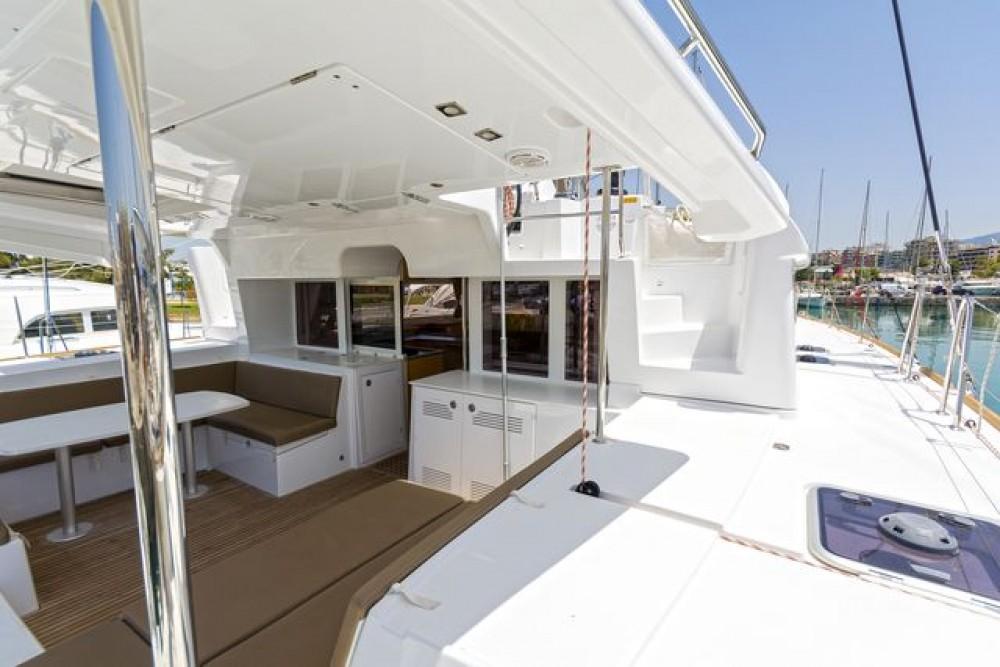 Rental Catamaran in Laurium -  Lagoon 450 F