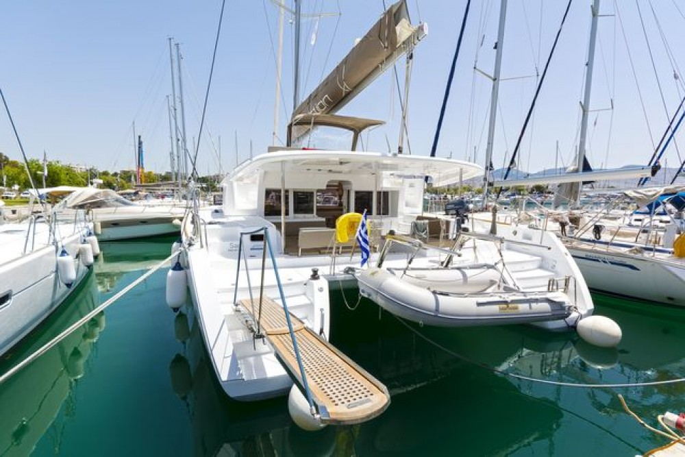 Rental yacht Peloponnese, Western Greece and the Ionian -  Lagoon 450 F on SamBoat