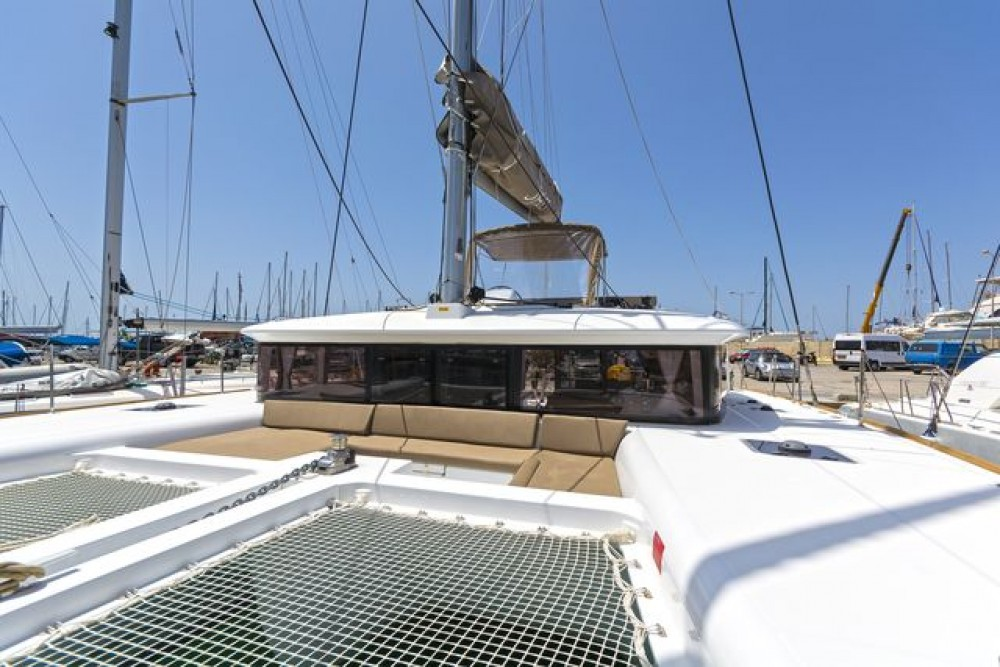 Lagoon 450 F between personal and professional Peloponnese, Western Greece and the Ionian