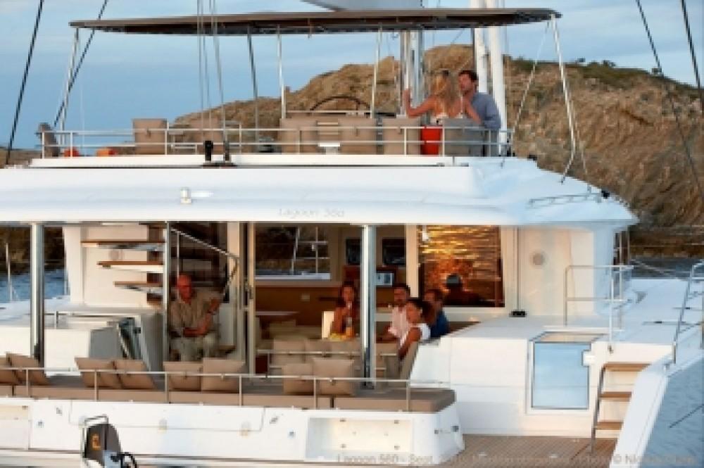 Rental yacht Athens - Lagoon Lagoon 560 S2 on SamBoat