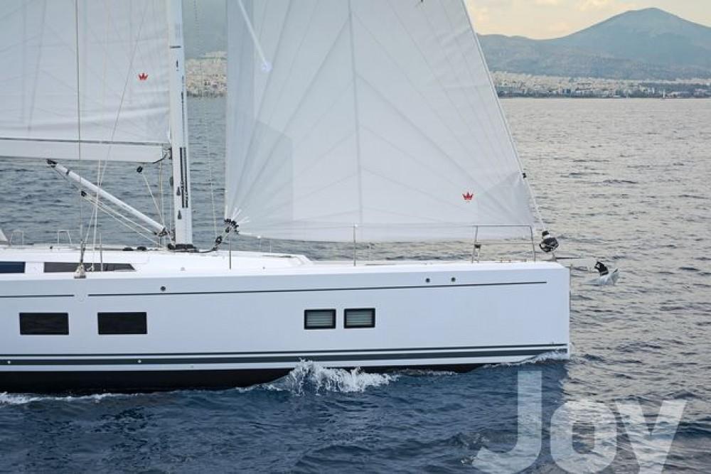 Rental Sailboat in Athens -  Hanse 548