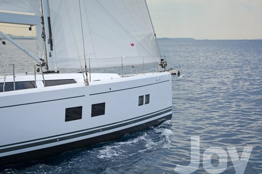 Rent a  Hanse 548 Peloponnese, Western Greece and the Ionian