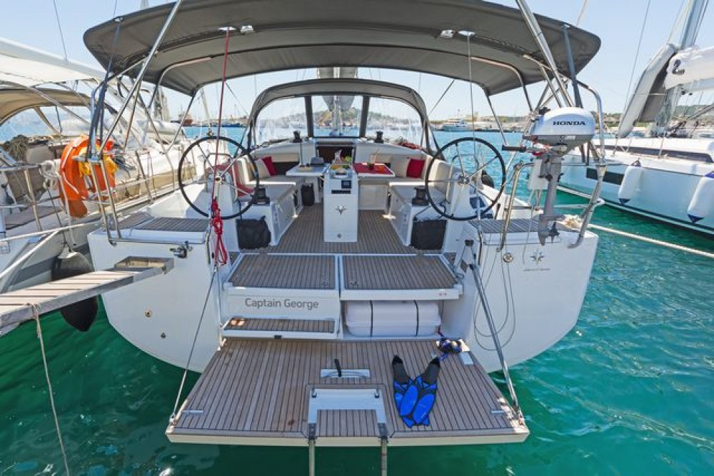 Sun Odyssey 490 between personal and professional Rhodes
