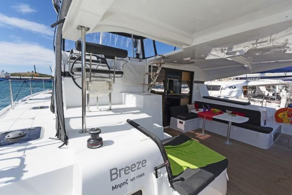 Hire Catamaran with or without skipper Lagoon Catamaran Kalafationes