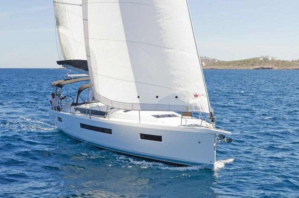 Boat rental Aegean cheap Sun Odyssey 490