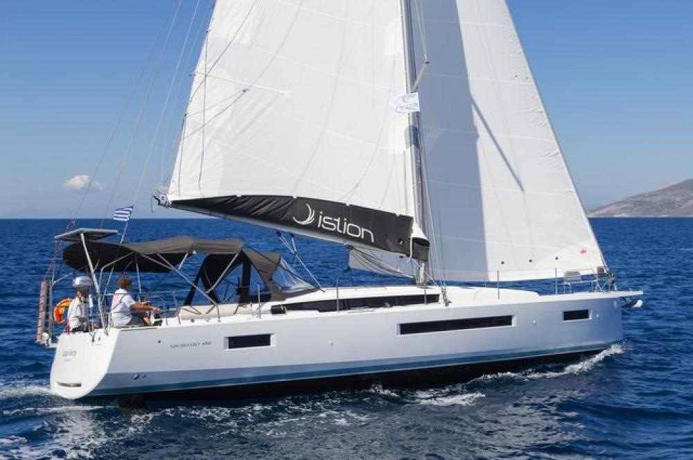 Rent a  Sun Odyssey 490 Aegean