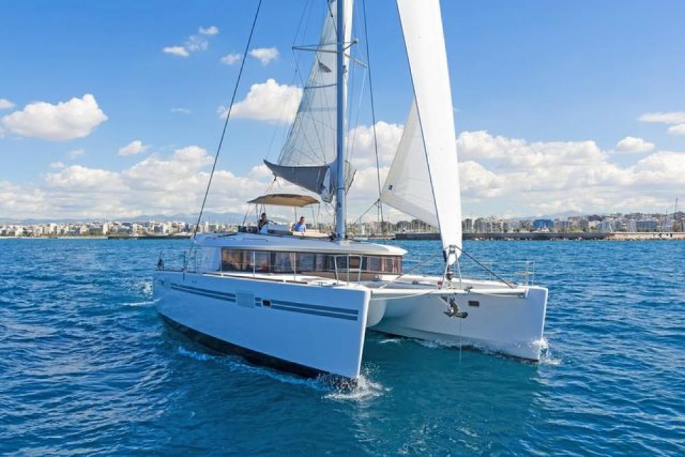 Rental Catamaran in Aegean -  Lagoon 450