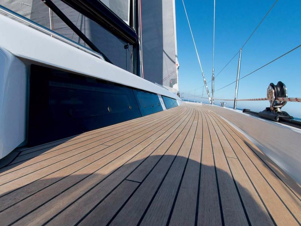 Boat rental Athens cheap Hanse 675