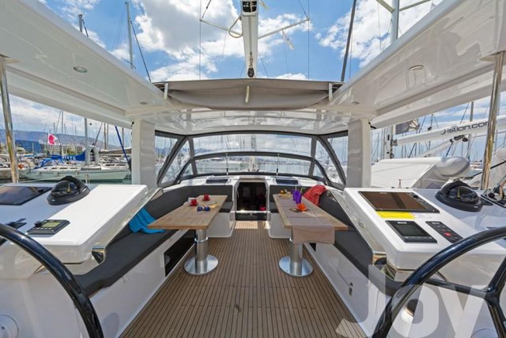 Boat rental Athens cheap Hanse 548