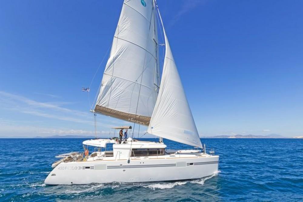 Rental Catamaran in Laurium -  Lagoon 450
