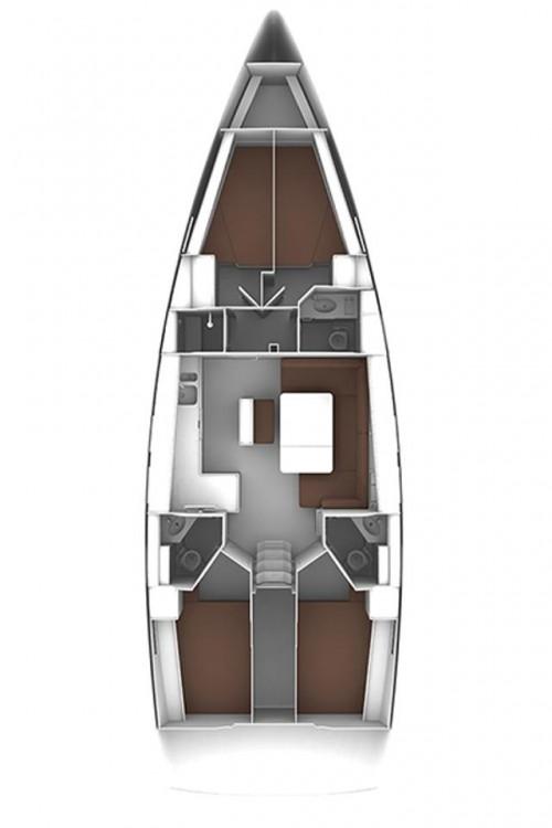 Bavaria Cruiser 46 between personal and professional Jezera