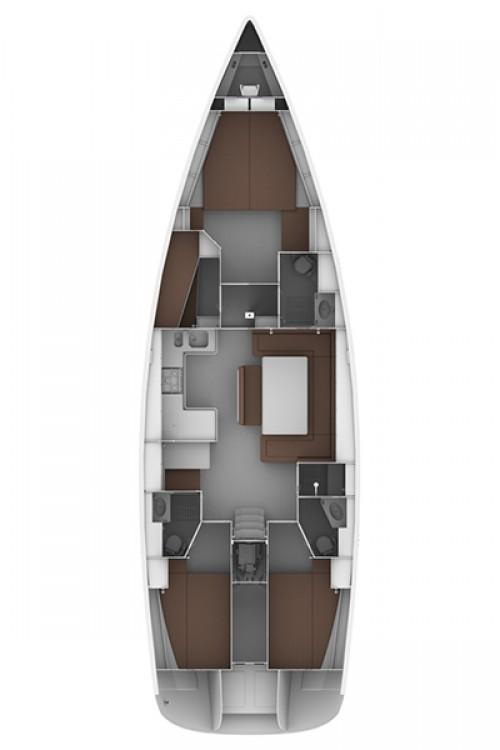 Boat rental Bavaria Bavaria Cruiser 50 - 4 cab. in Rodney Bay Marina on Samboat
