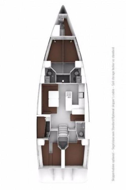 Rental yacht Croatia - Bavaria Cruiser 56 on SamBoat