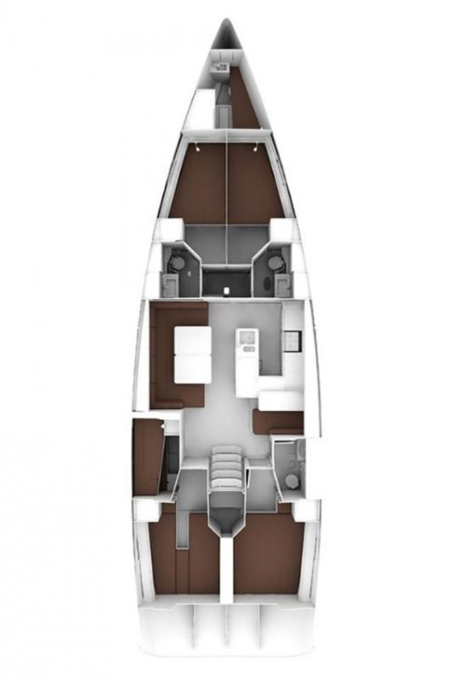 Rent a Bavaria Cruiser 56 Split