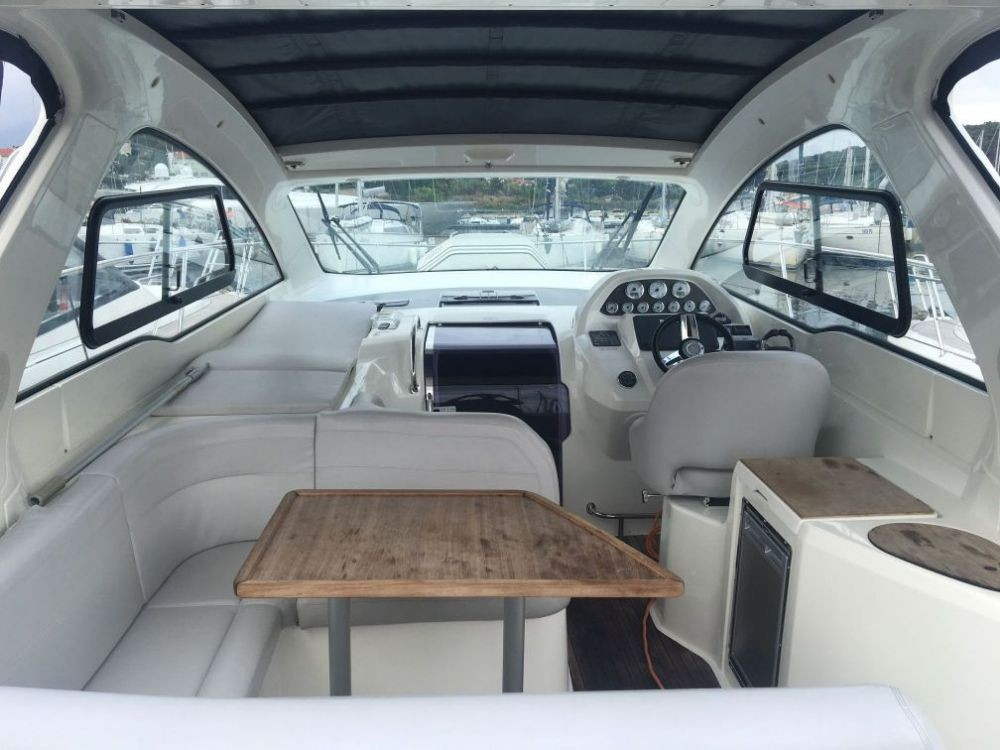 Bavaria Sport 34 between personal and professional Pula