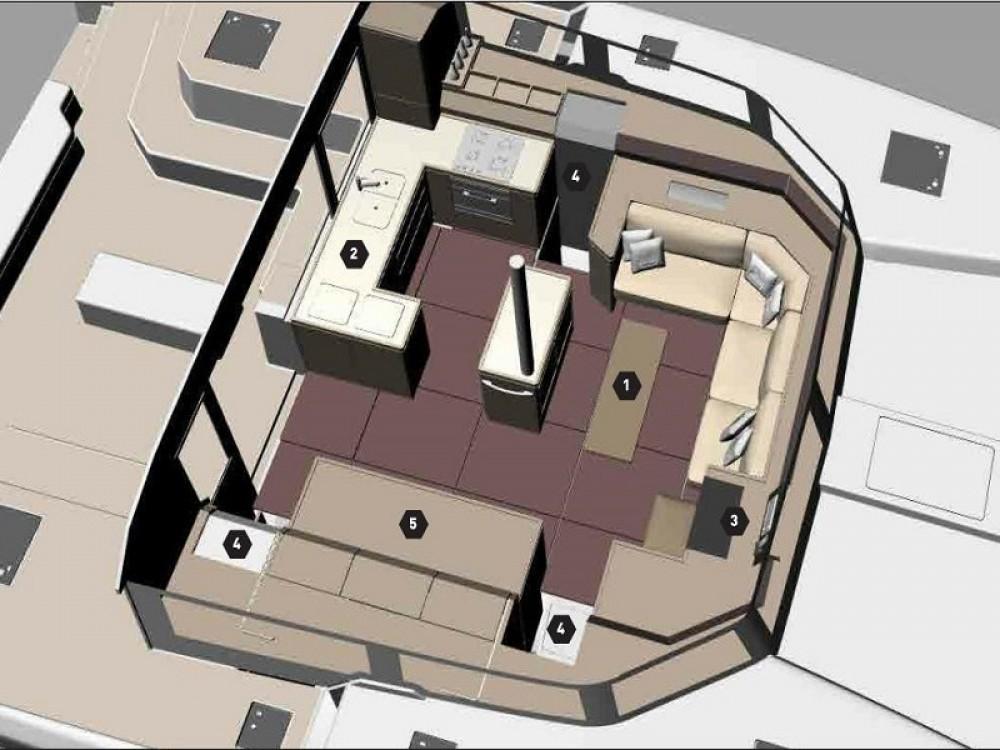 Rental Catamaran in Alimos Marina - Dufour Dufour Catamaran 48