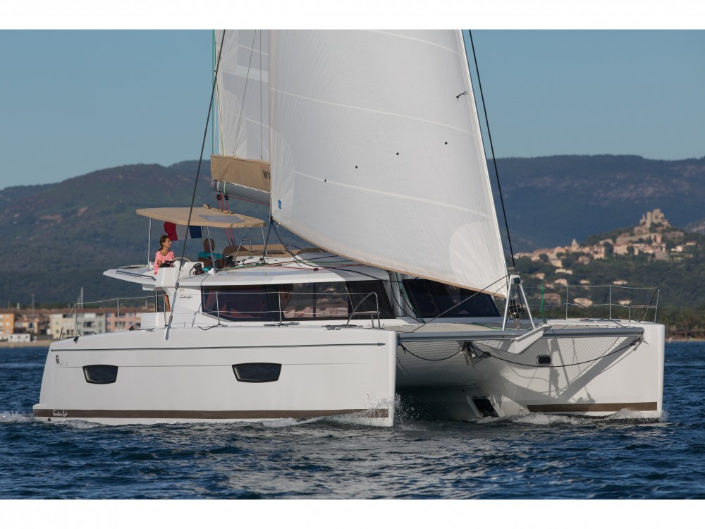 Fountaine Pajot Helia 44 Evolution between personal and professional Victoria