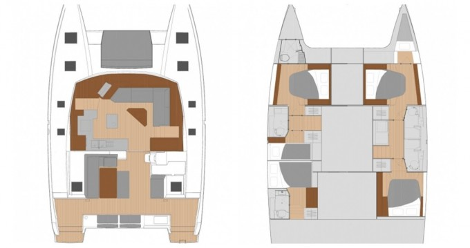 Rental Catamaran in Eden Island - Fountaine Pajot Saona 47