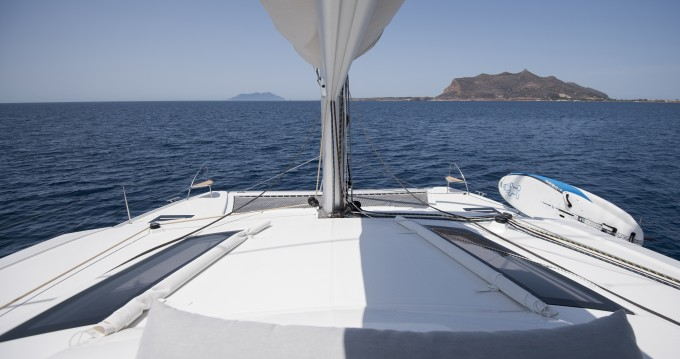 Fountaine Pajot Lucia 40 between personal and professional Marsala