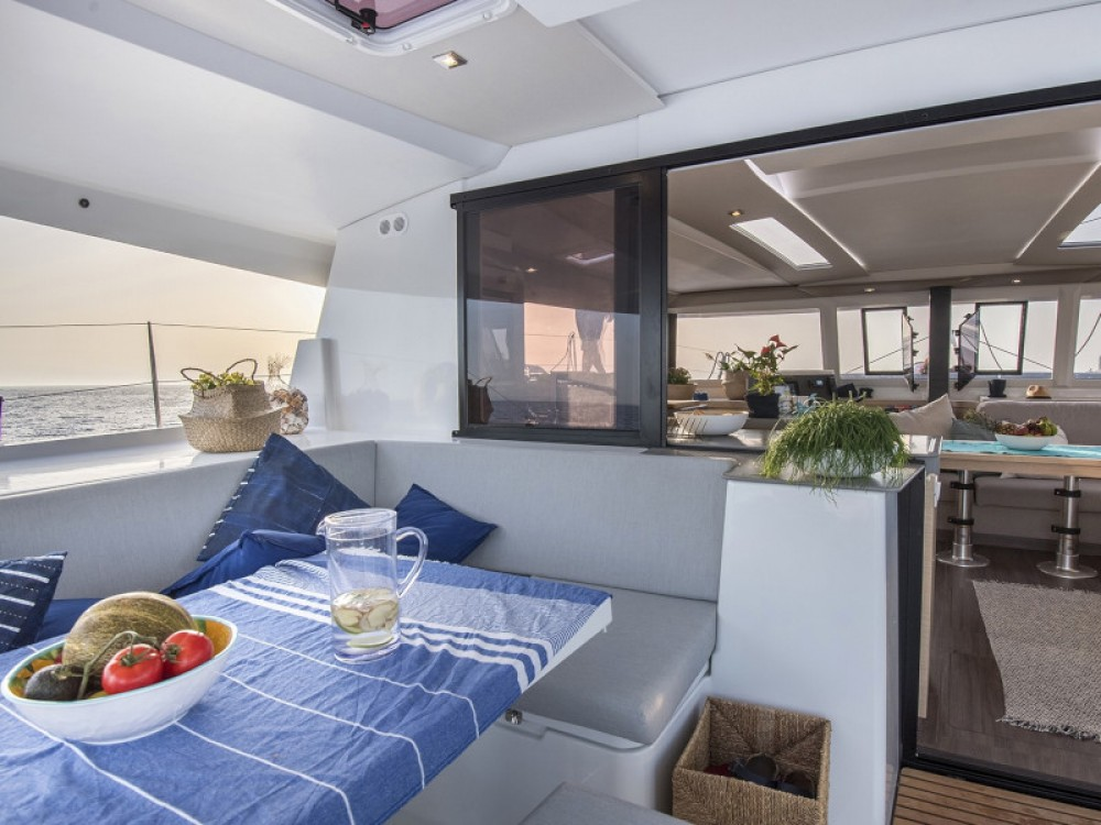 Hire Catamaran with or without skipper Fountaine Pajot Marsala