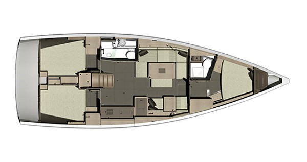 Rental Sailboat in Sukošan - Dufour Dufour 410 GL