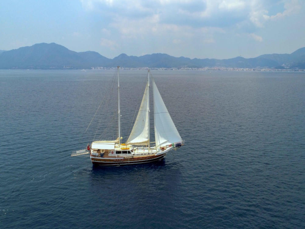 Rental Sailboat in Marmaris -  Gulet - Perla del Mar