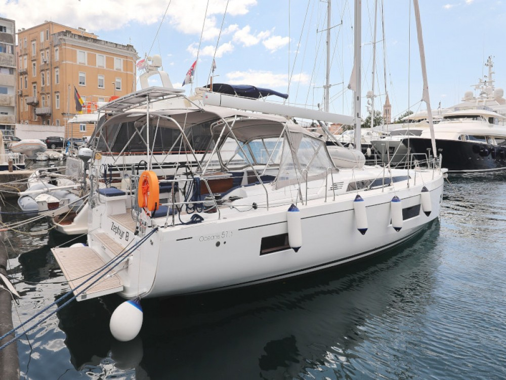 Hire Sailboat with or without skipper Bénéteau Zadar