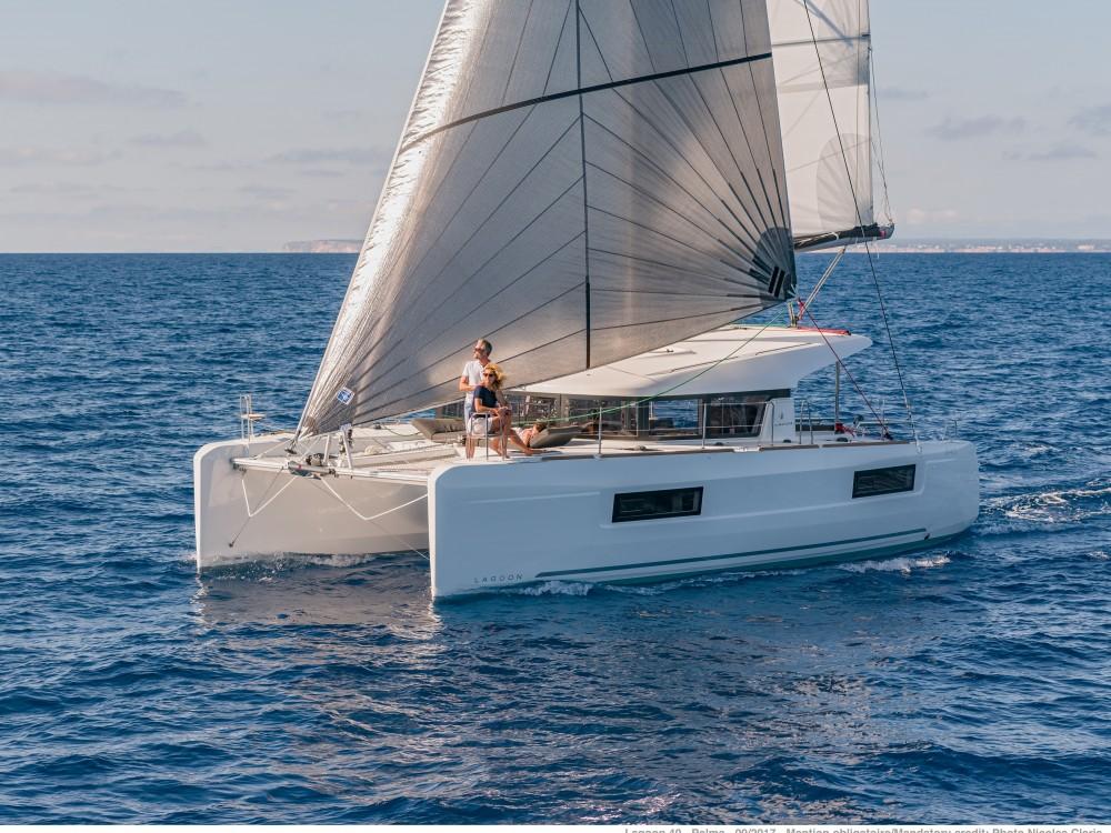 Boat rental Castiglioncello cheap Lagoon 40 (4 cabs)