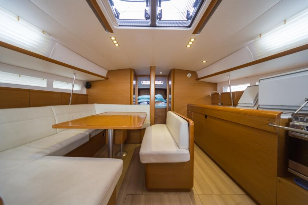 Boat rental Trogir cheap Sun Odyssey 509
