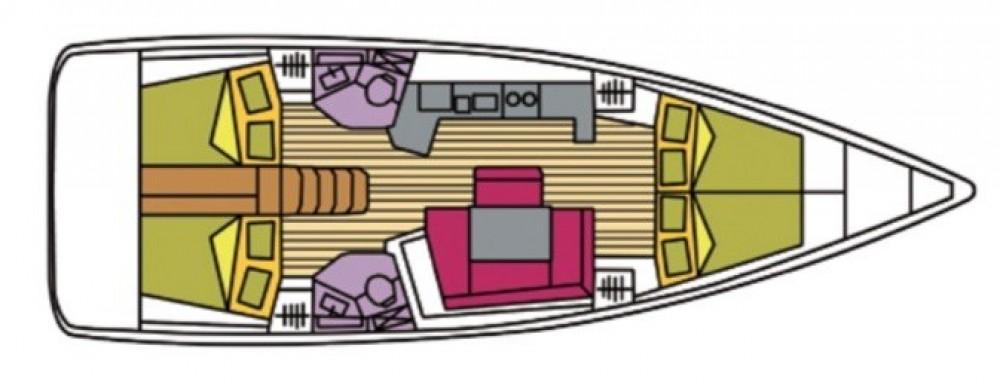 Boat rental Jeanneau Oceanis 45 in  on Samboat