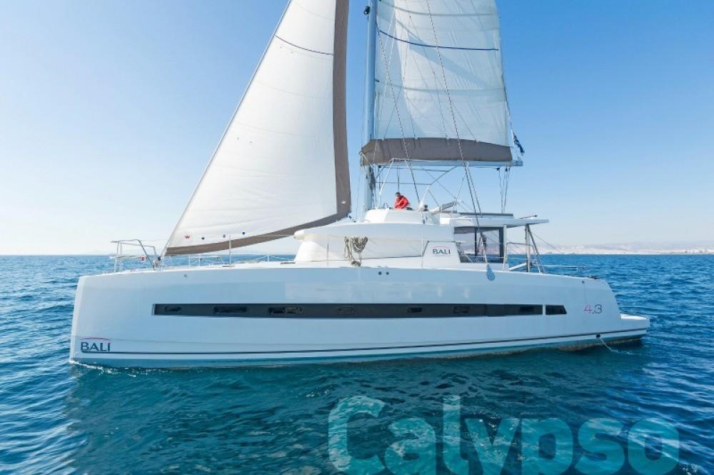 Rental Catamaran in Athens - Bali Catamarans Bali 4.3