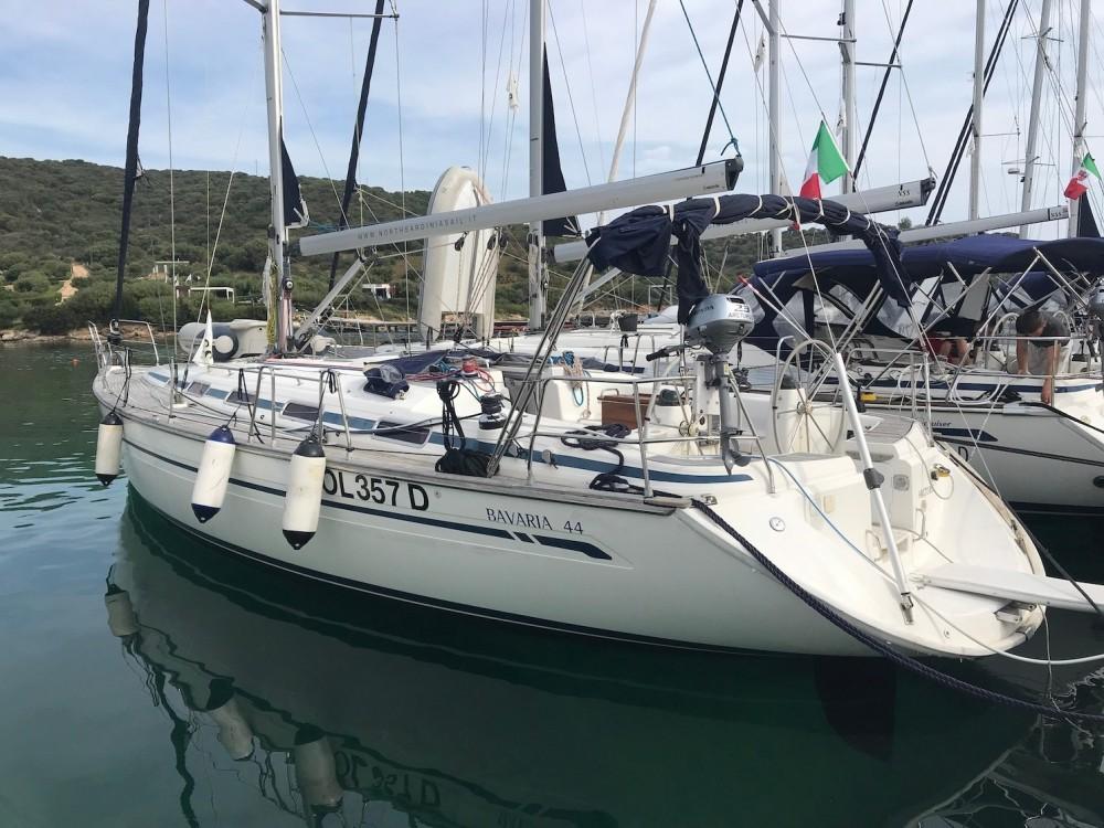 Boat rental Olbia cheap Bavaria 44