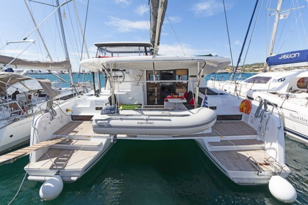 Hire Catamaran with or without skipper Lagoon Catamaran