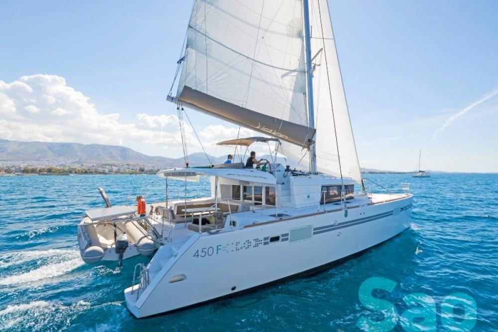 Rental Catamaran in Athens -  Lagoon 450