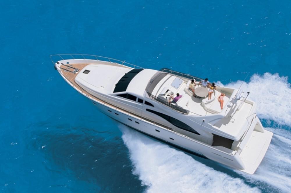Boat rental  Ferretti 68 in Aegean on Samboat
