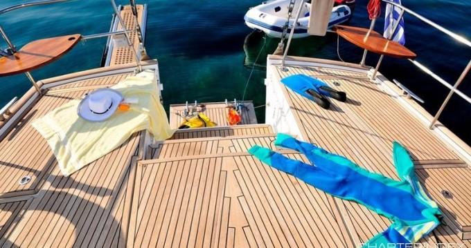 Boat rental Athens cheap Beneteau 57