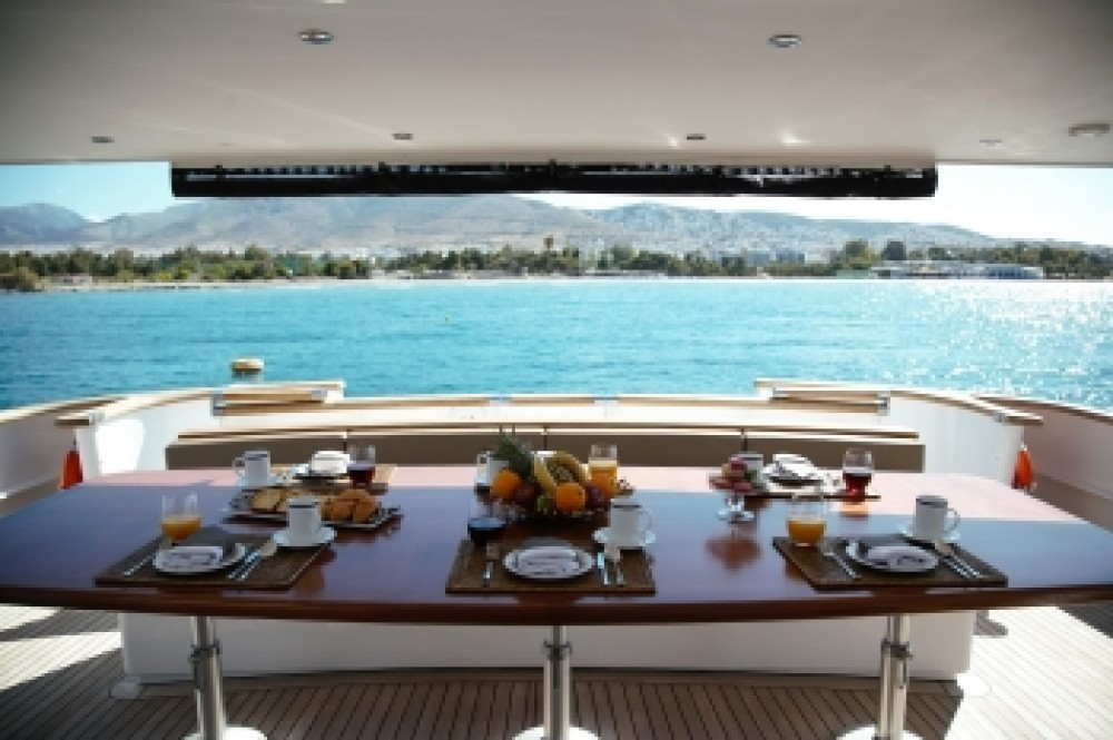 Boat rental Athens cheap Bugari 100