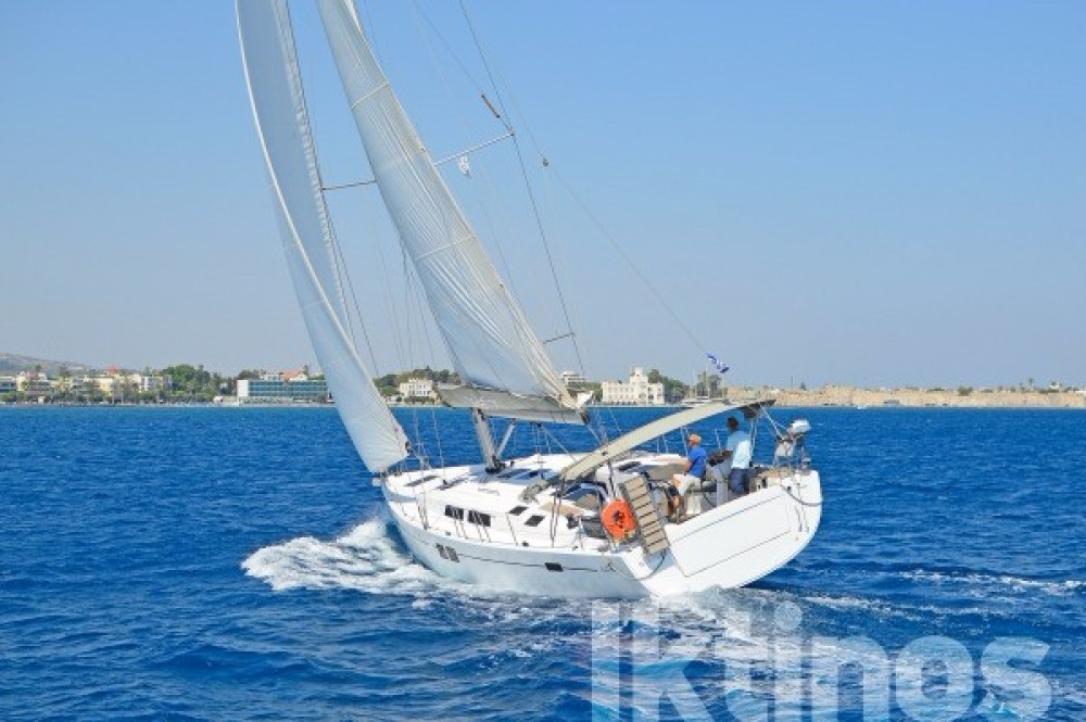 Hanse 505 between personal and professional Volos