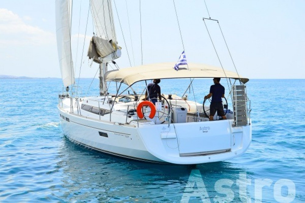Rental Sailboat in Peloponnese, Western Greece and the Ionian - Jeanneau Sun Odyssey 509