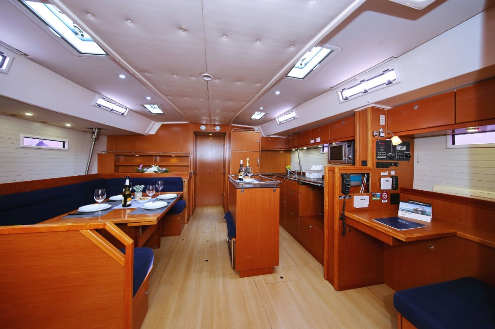 Bavaria Cruiser 55 between personal and professional Grad Pula