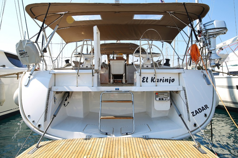 Bavaria Cruiser 56 between personal and professional Trogir