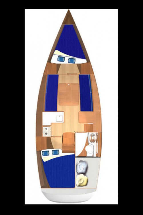 Boat rental Slovenia cheap Dufour 325 GL