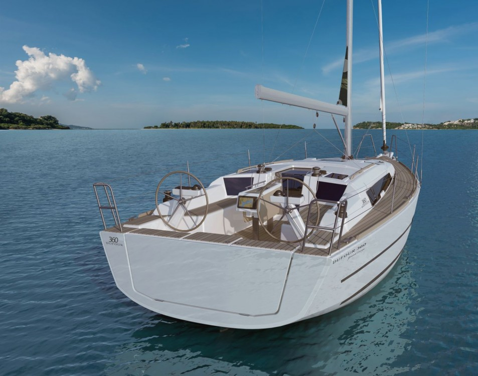Boat rental Dufour Dufour 360 Grand Large in Croatia on Samboat