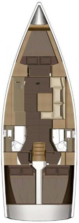 Boat rental  cheap Dufour 382 GL
