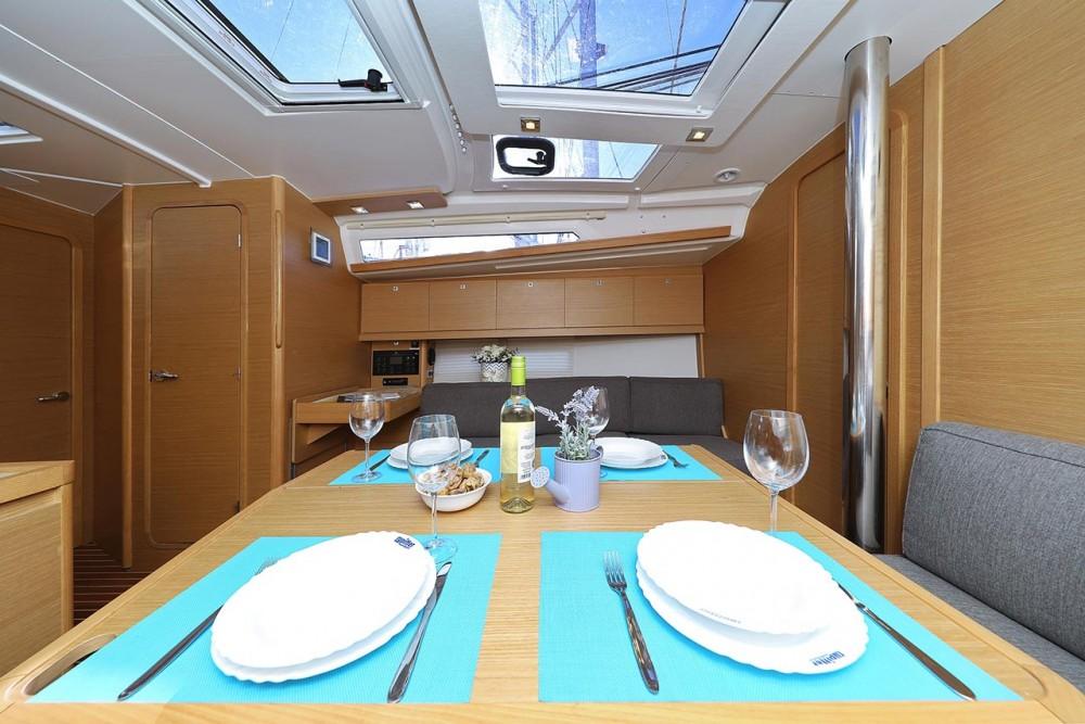 Boat rental  cheap Dufour 390 GL