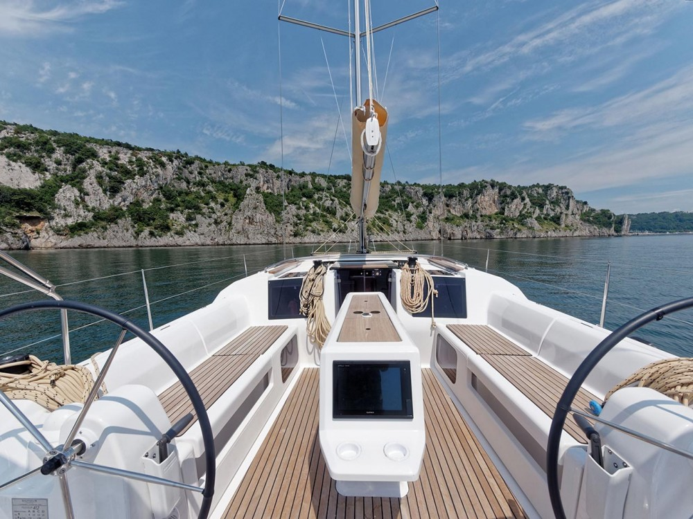 Boat rental Trogir cheap Dufour 412 GL