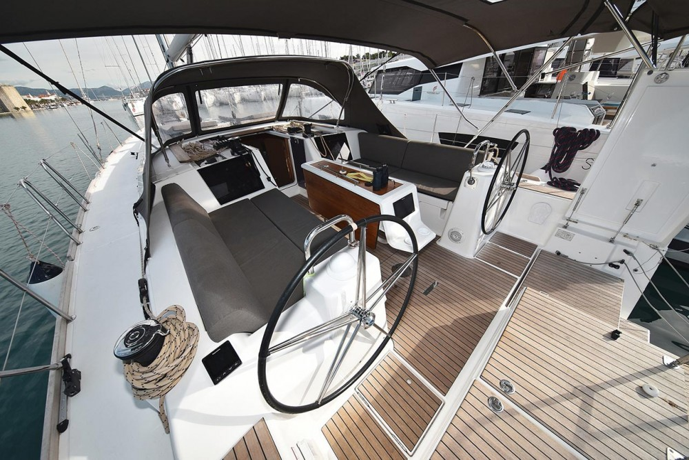 Boat rental Dufour Dufour 460 GL in  on Samboat