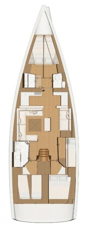 Rental yacht  - Dufour Dufour 520 Grand Large on SamBoat