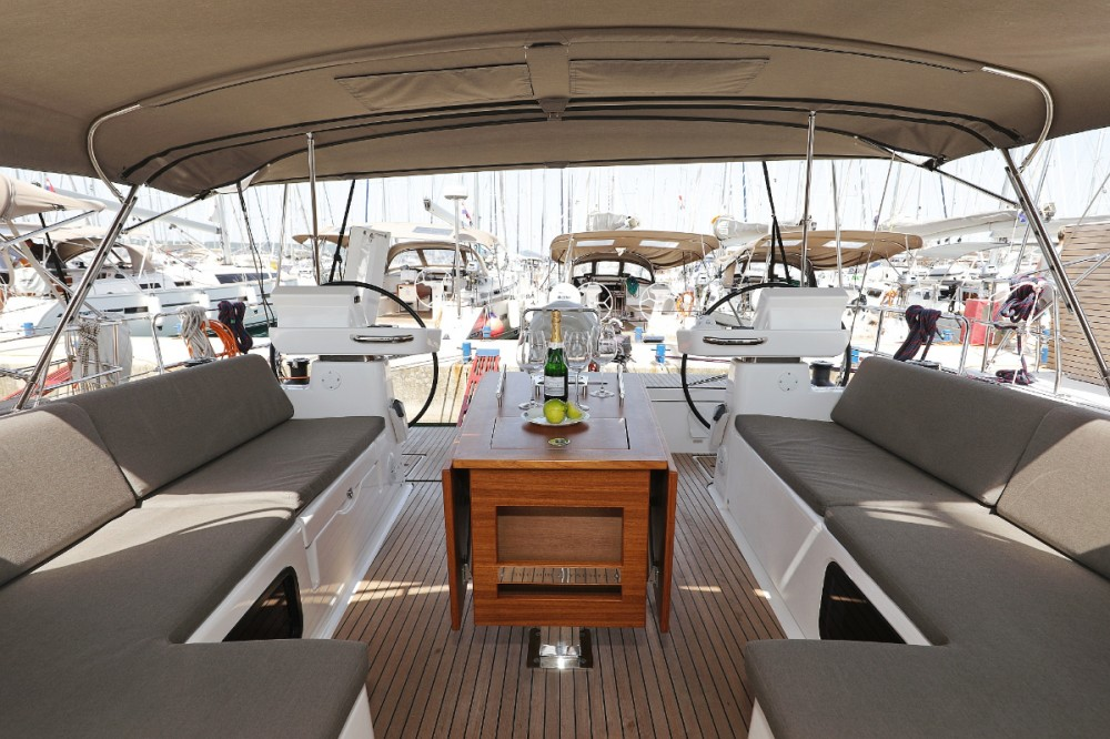 Rental Sailboat in Croatia - Dufour Dufour 520 GL