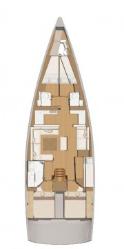 Boat rental Dufour Dufour 56 Exclusive in Trogir on Samboat